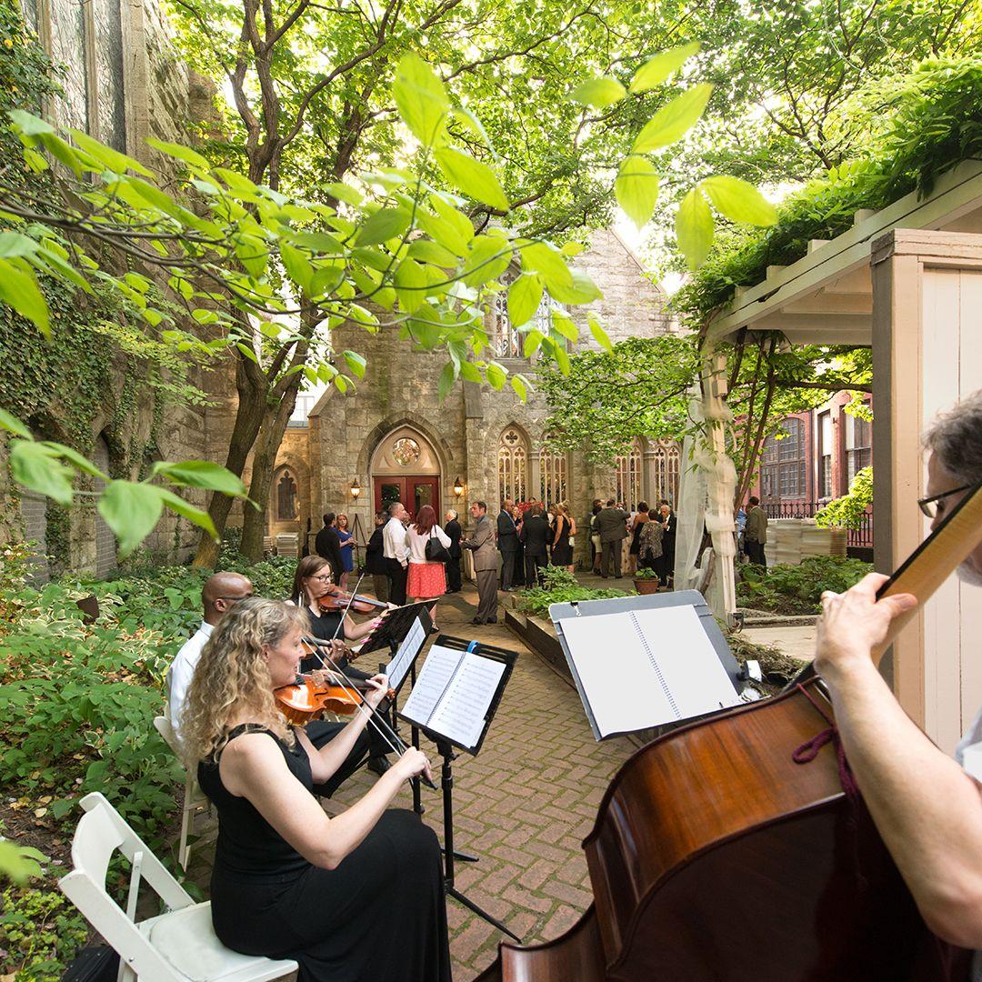 Outdoor Wedding Ceremony No Music
