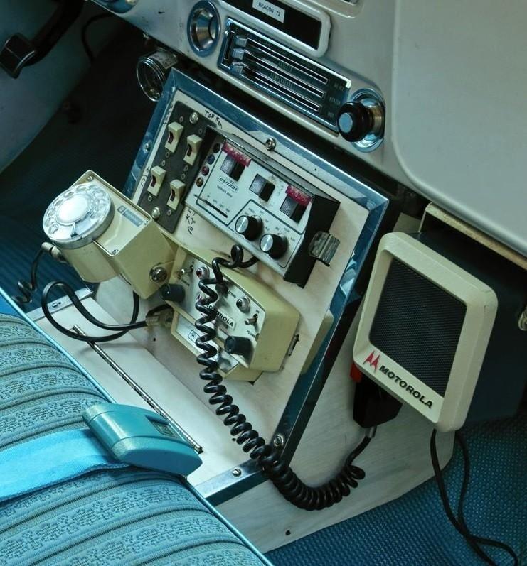 HITech......circa 1970ish...... Police radio, Emergency
