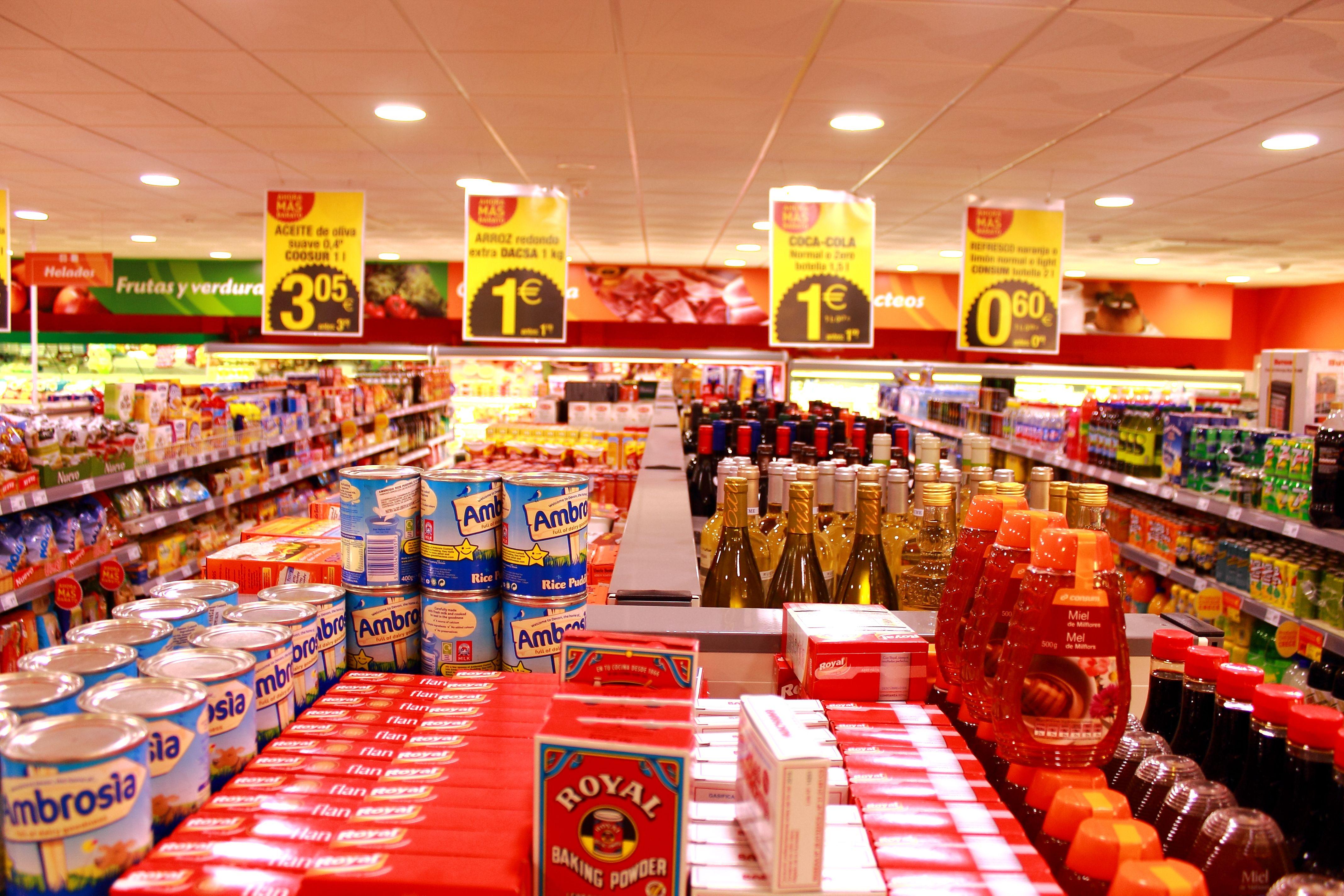 Consum 1 Consum Supermercado Charter Supermercado