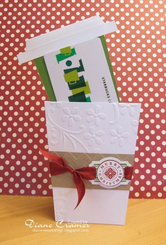 Coffee Cup Gift Card Holder Coffee Gifts Card Gift Cards Money Gift Card Holder