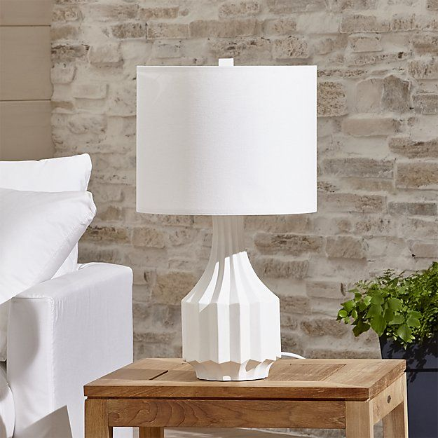 Prism Outdoor Table Lamp Crate And Barrel House