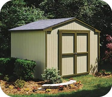 Handy Home Products Cumberland 10x8 Value Wood Shed 18280 8 Garden Shed Kits Wooden Storage Sheds Wood Shed