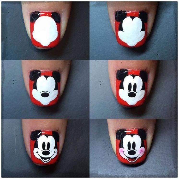 Resultado de imagen para diseños de uñas paso a paso ...