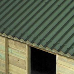 Onduline 3mm Green Corrugated Bitumen Sheet 950 X 2000mm Green Sheets Corrugated Roofing