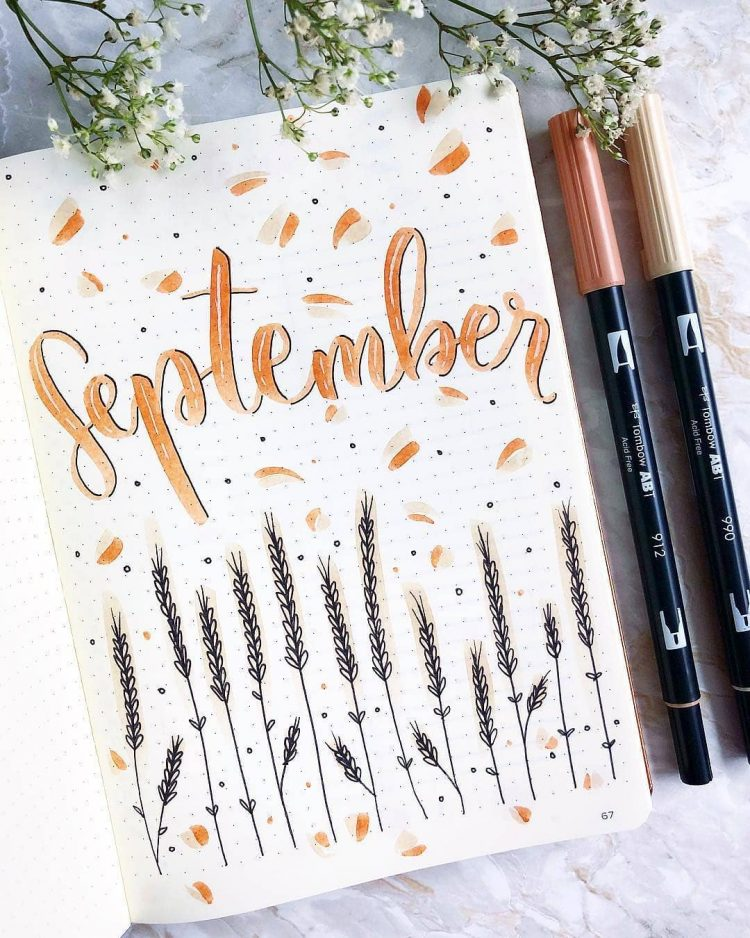 Photo of 24 Monthly Bullet Journal Spreads You'll Want to Steal