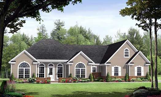 #2-194 | 3 Bedroom 2.5 Bath | Covered porch entry, outdoor kitchen, luxury master suite, and lower level bonus room.