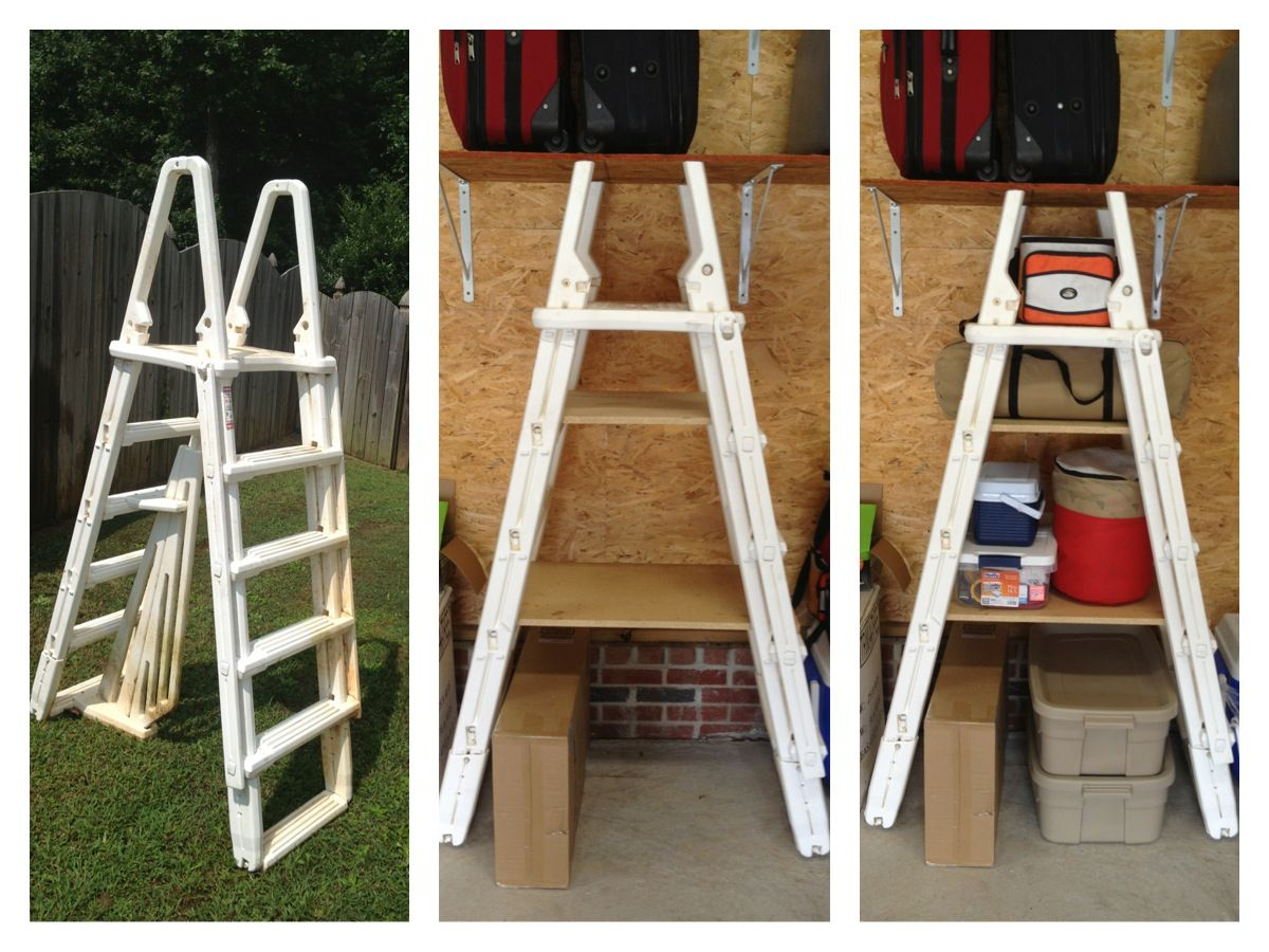 I Almost Threw This Old Swimming Pool Ladder Away You Can