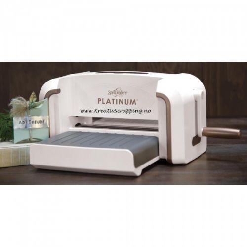 Spellbinders Platinum A4 Die Cutting /& Embossing Machine
