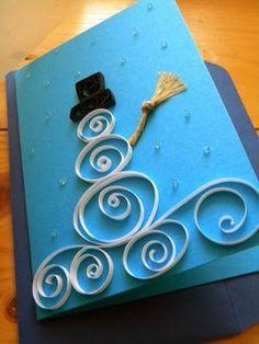 Encuentra La Inspiracion Para Hacer Tarjetas De Navidad Diy - Como-hacer-postales-de-navidad-originales