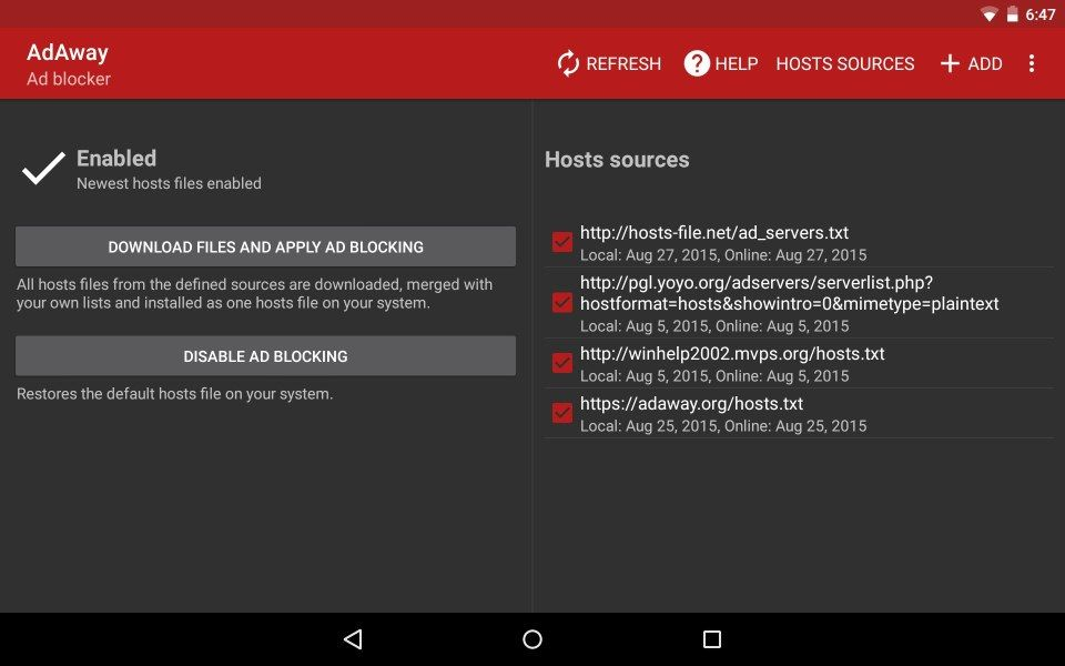 Free Adblocker Browser for android