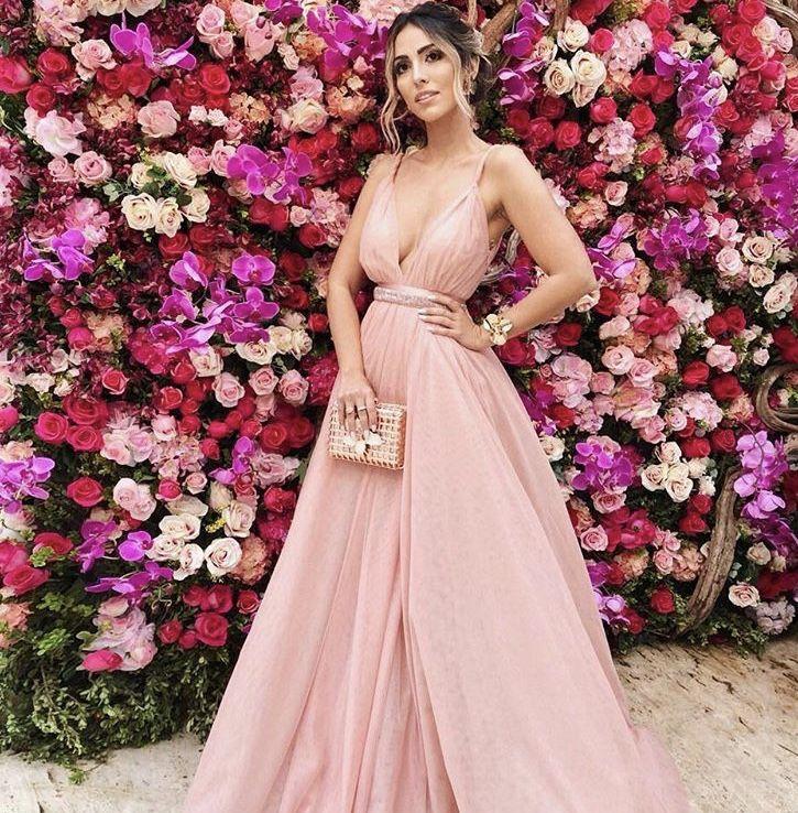 Vestido Princess by Letícia Manzan. Jade Seba no Casamento da Marina ...