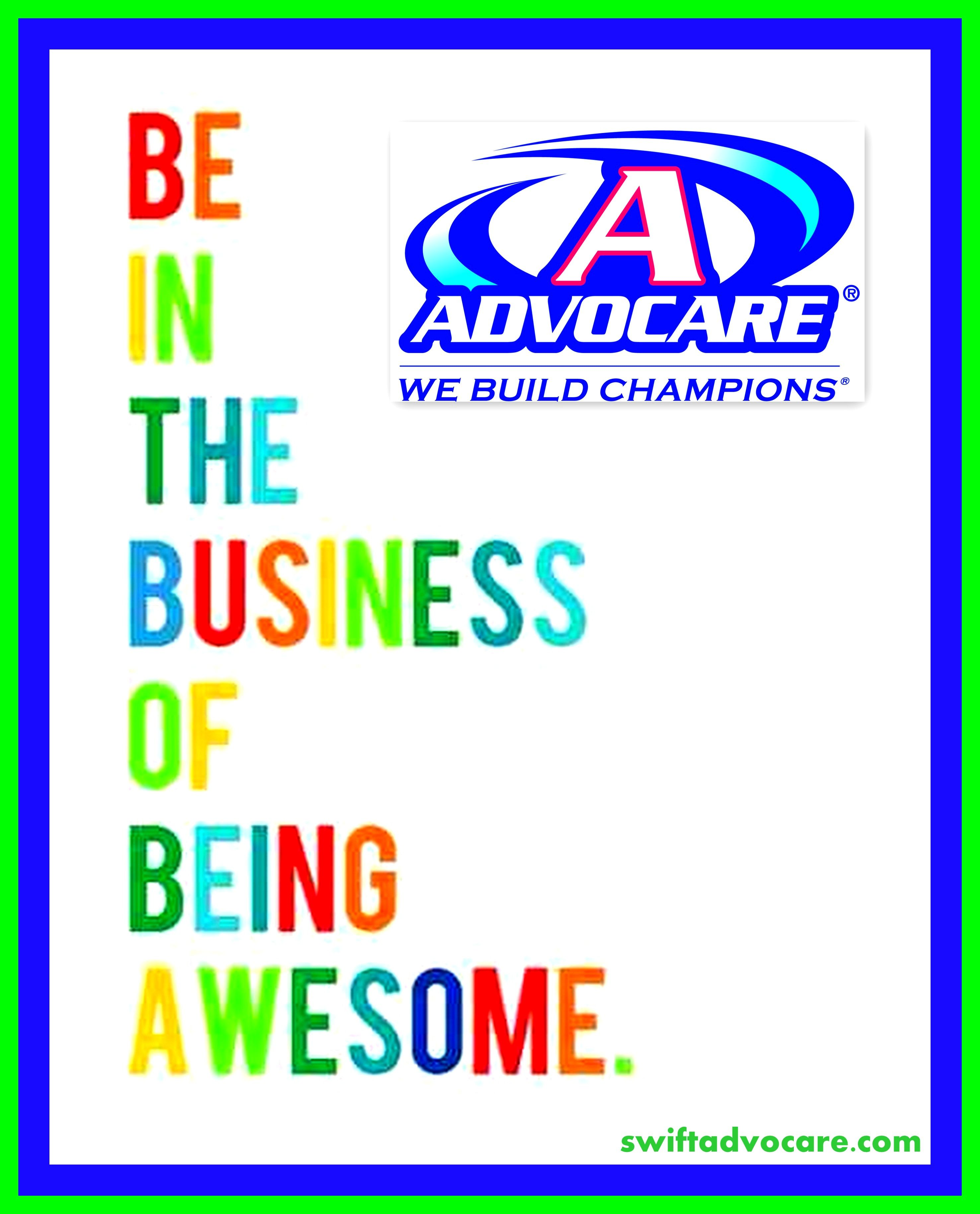 Advocare AWESOME! Visit our AdvoCare East TN Distributor