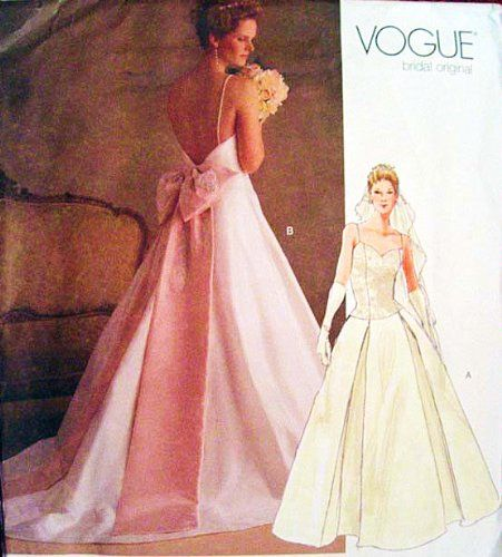 Pin by Esther Briggs on Wedding & Prom Patterns Modern | Pinterest ...