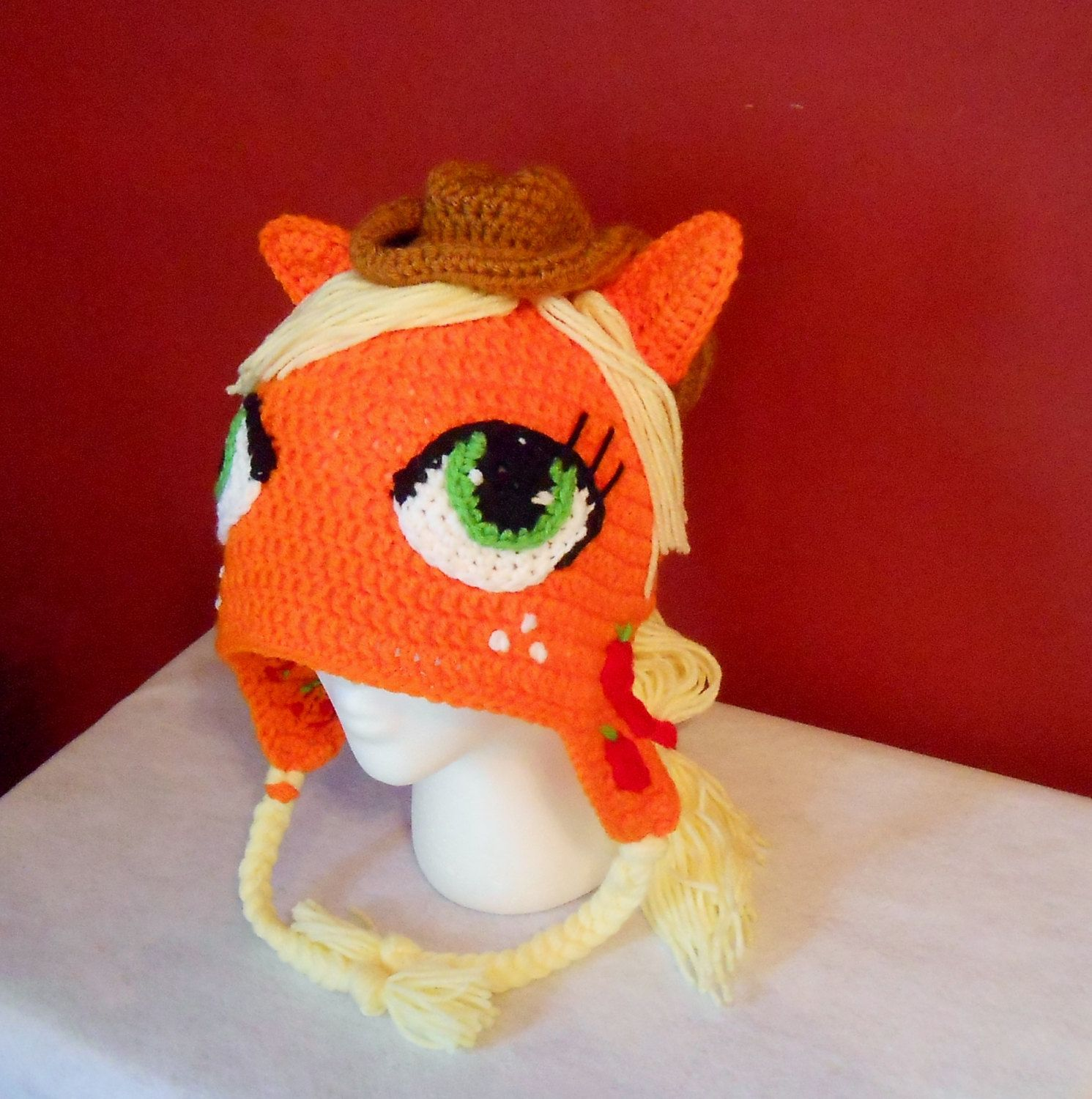 My Little Pony Applejack Inspired Crocheted by TheCranberryCreek ...