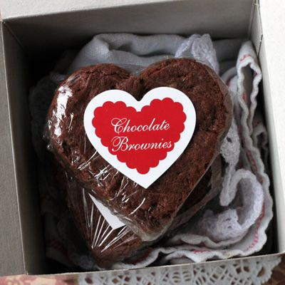 Heart Shaped Brownies Brownie Packaging Brownies Valentines