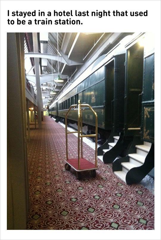10 Fresh Memes Today!8 Amazing Train Station Hotel  is part of Places to travel - 10 Fresh Memes Today!8 Amazing Train Station Hotel