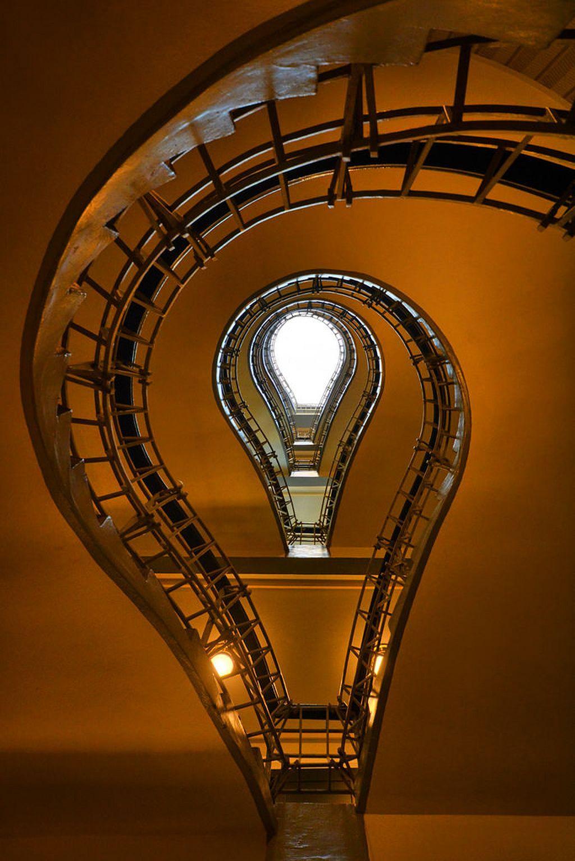 31 Light Bulb Staircase In Prague Light bulb, Bulb, Prague