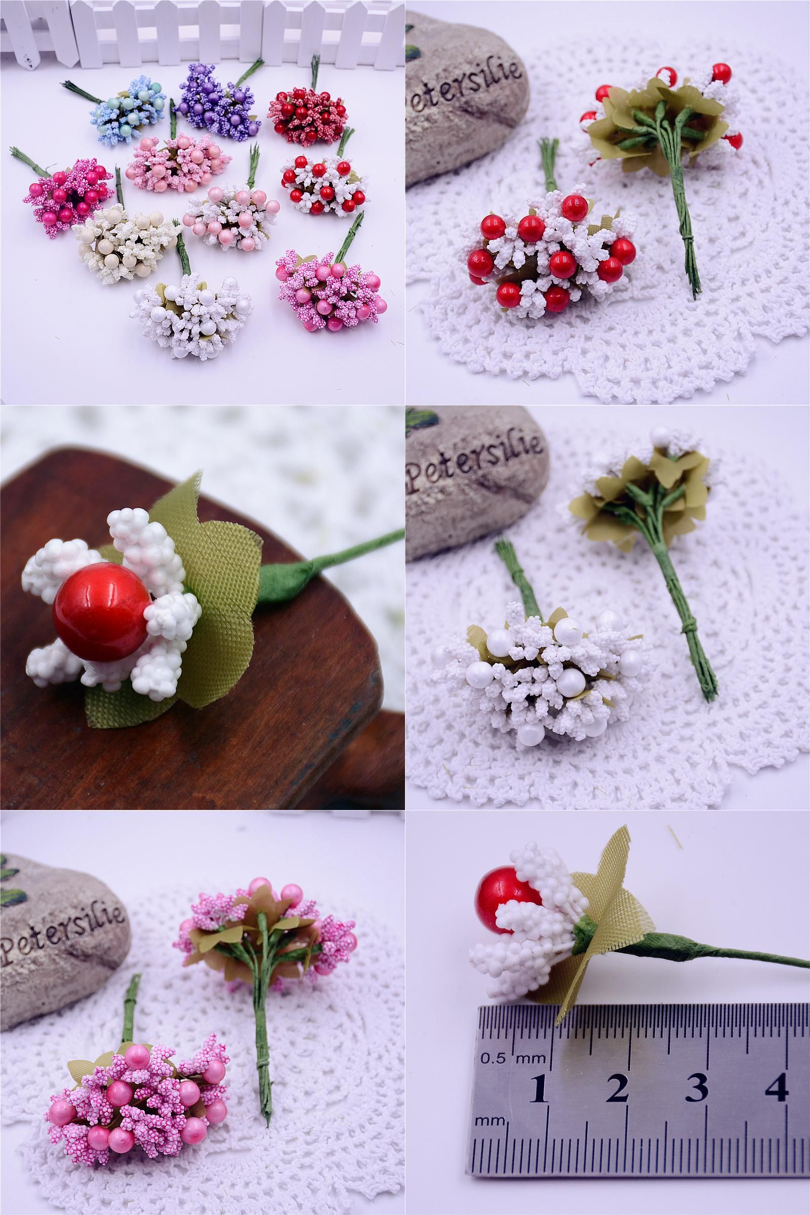 Visit To Buy 10pcslot Mulberry Foam Cherry Artificial Flower