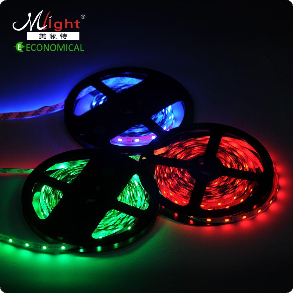 5 Meter SMD3528 12 V LED Streifen Licht Wohnzimmer Dekorative Flexible Band  Seil Innenbeleuchtung Dekoration