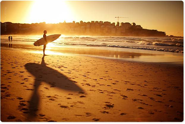 Bondi in the morning - photo by Uge