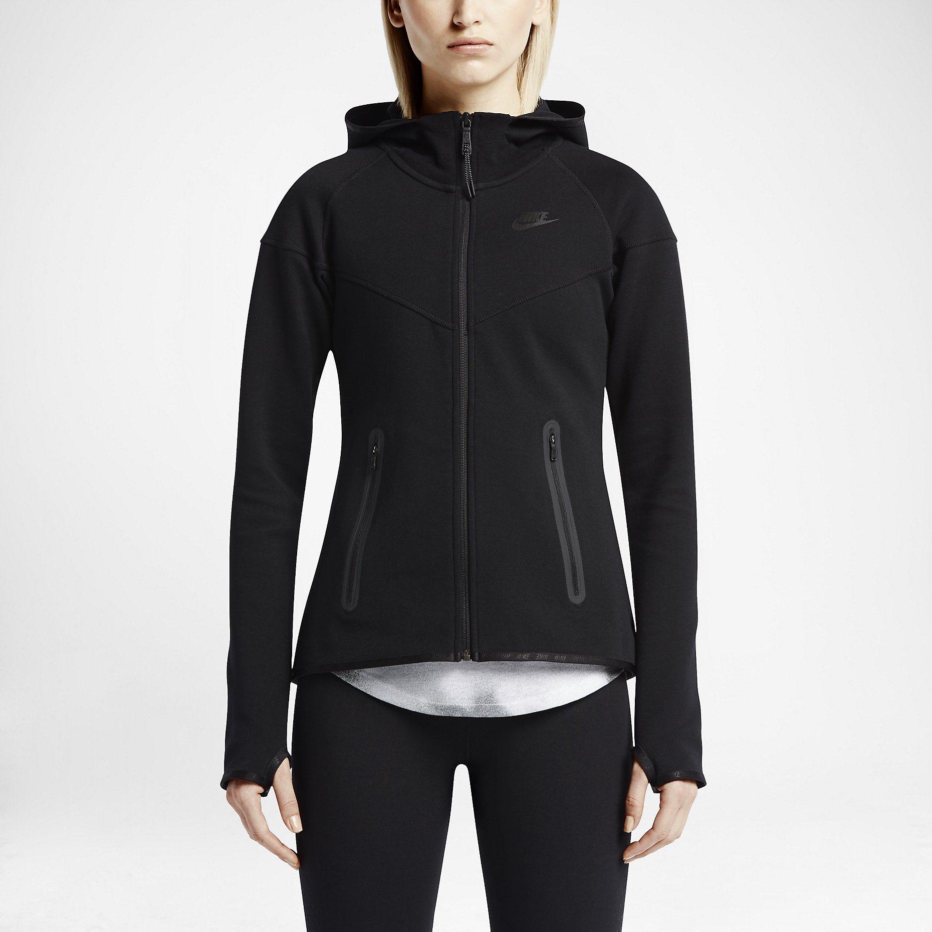 Nike Tech Fleece FullZip Women's Hoodie. Nike Store