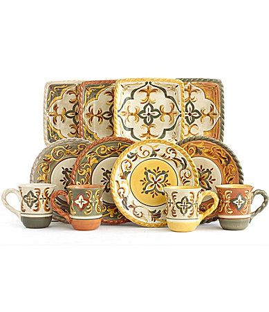 Artimino Sienna Dinnerware #Dillards. Love the pattern. Color scheme is nice but  sc 1 st  Pinterest & Artimino Sienna Dinnerware #Dillards. Love the pattern. Color ...