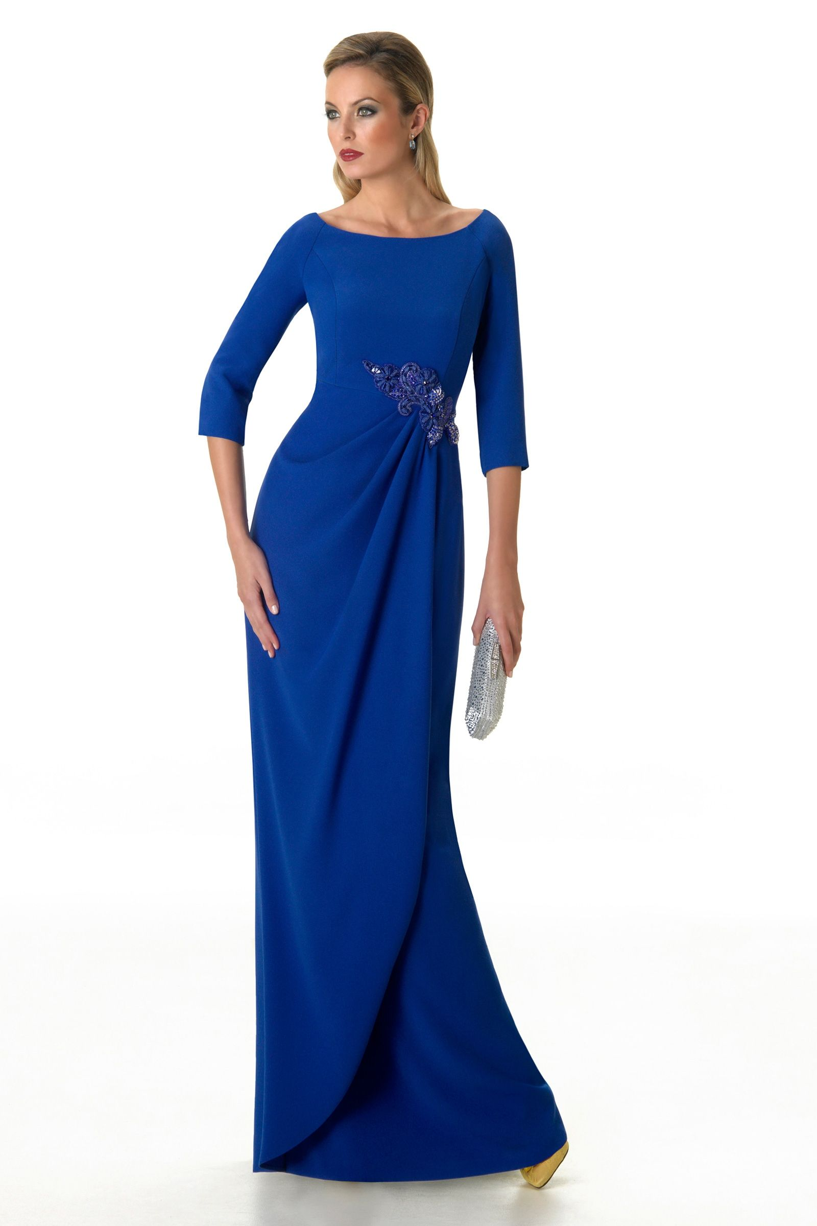 Vestido De Madrina De Raffaello Garvey Largo En 2019