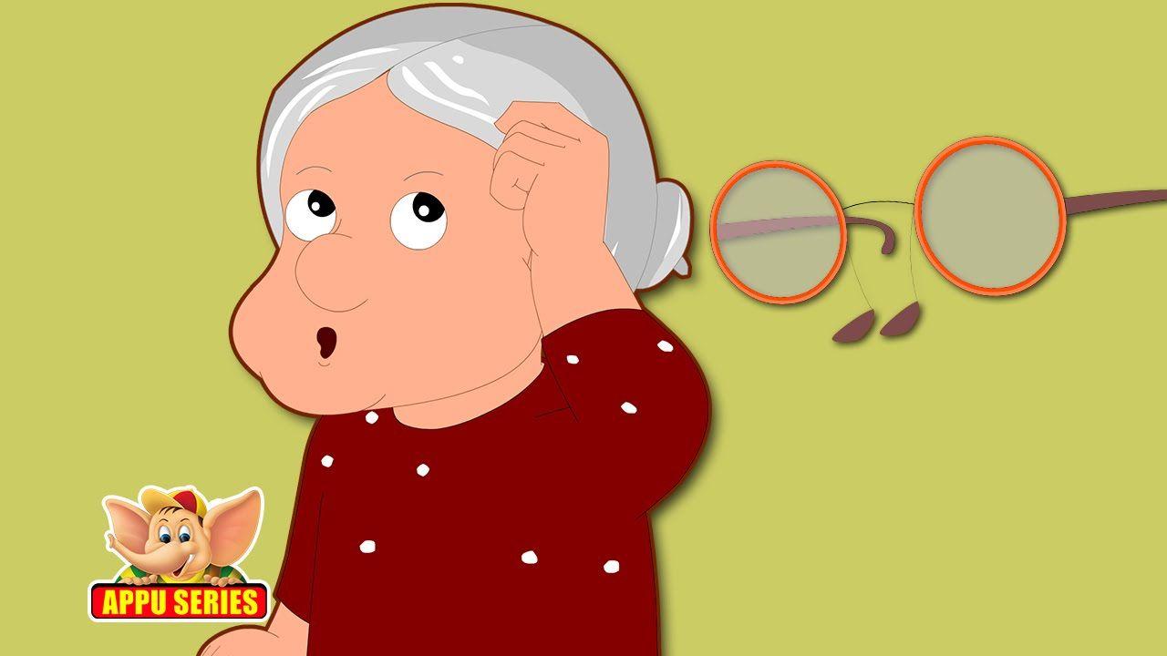 Grandma's Glasses - Nursery Rhyme with Lyrics & Karaoke