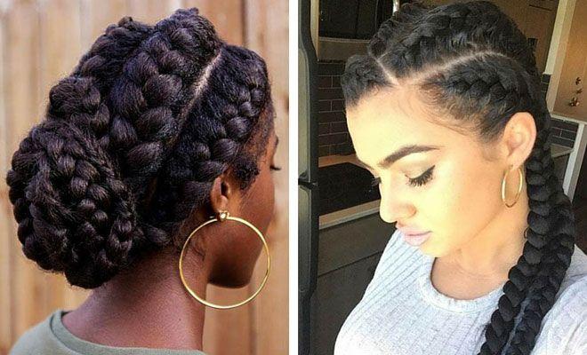 African Goddess Braids: 31 Goddess Braids Hairstyles For Black Women