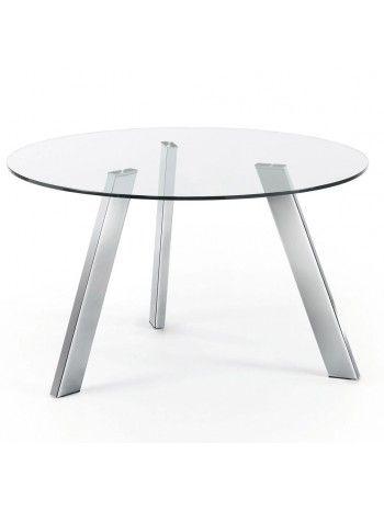Versatile ed elegante tavolo rotondo, perfetto per un arredo ...
