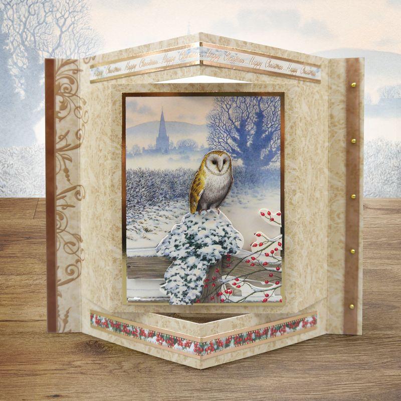 Winter Wildlife of Britain Hunkydory Hunkydory Crafts