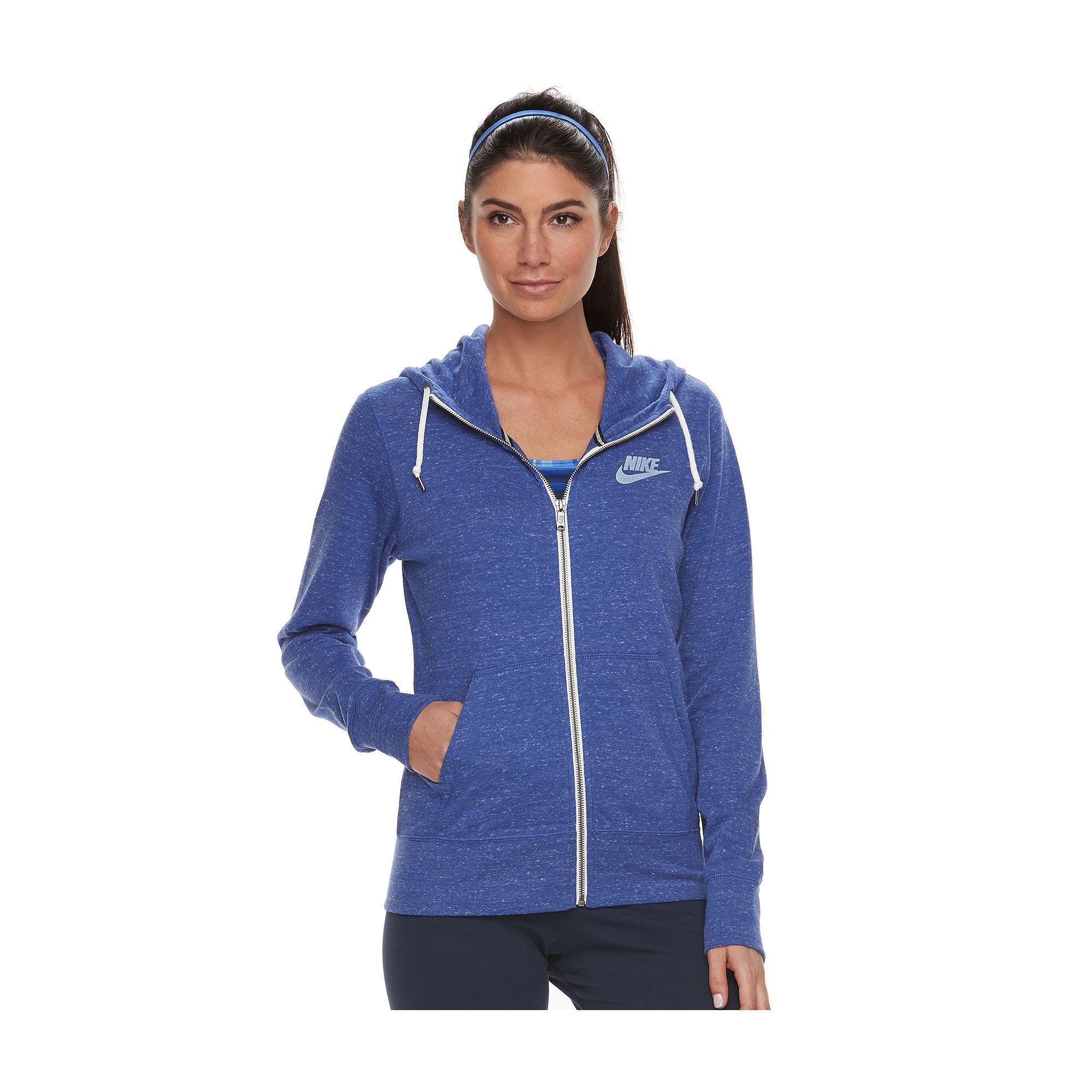 a9a6d12a83ef Women s Nike Gym Vintage Zip Up Hoodie in 2019