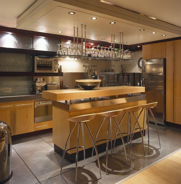 Contemporary Kitchen Bar: Cool Kitchen Ideas In 2019