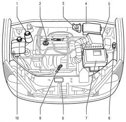 2001 Ford Focus Engine Bay Diagram