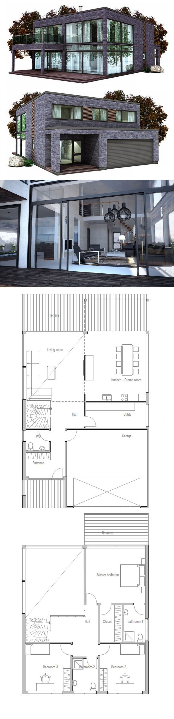 Love Me Some Box Houses With Glass As Long As I Don T Have To Clean It Home Beautiful Cool Modern De Container House Plans Beach House Plans House Plans