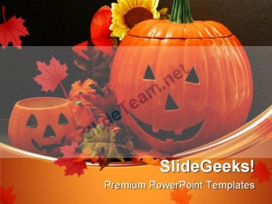 Happy Halloween01 Festival PowerPoint Templates And PowerPoint - winter powerpoint template