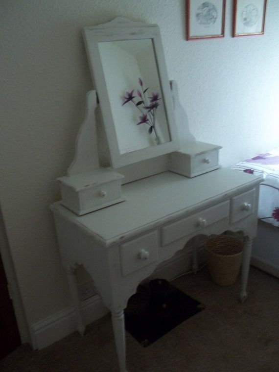 promo code 4f978 a3796 shabby chic vintage dressing table by jansden on Etsy ...
