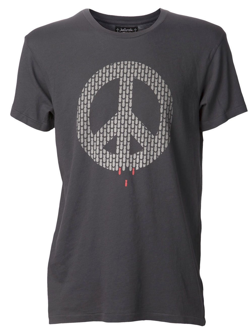 Men - Kelly Cole Peace Shells T-Shirt - Industrie Denim