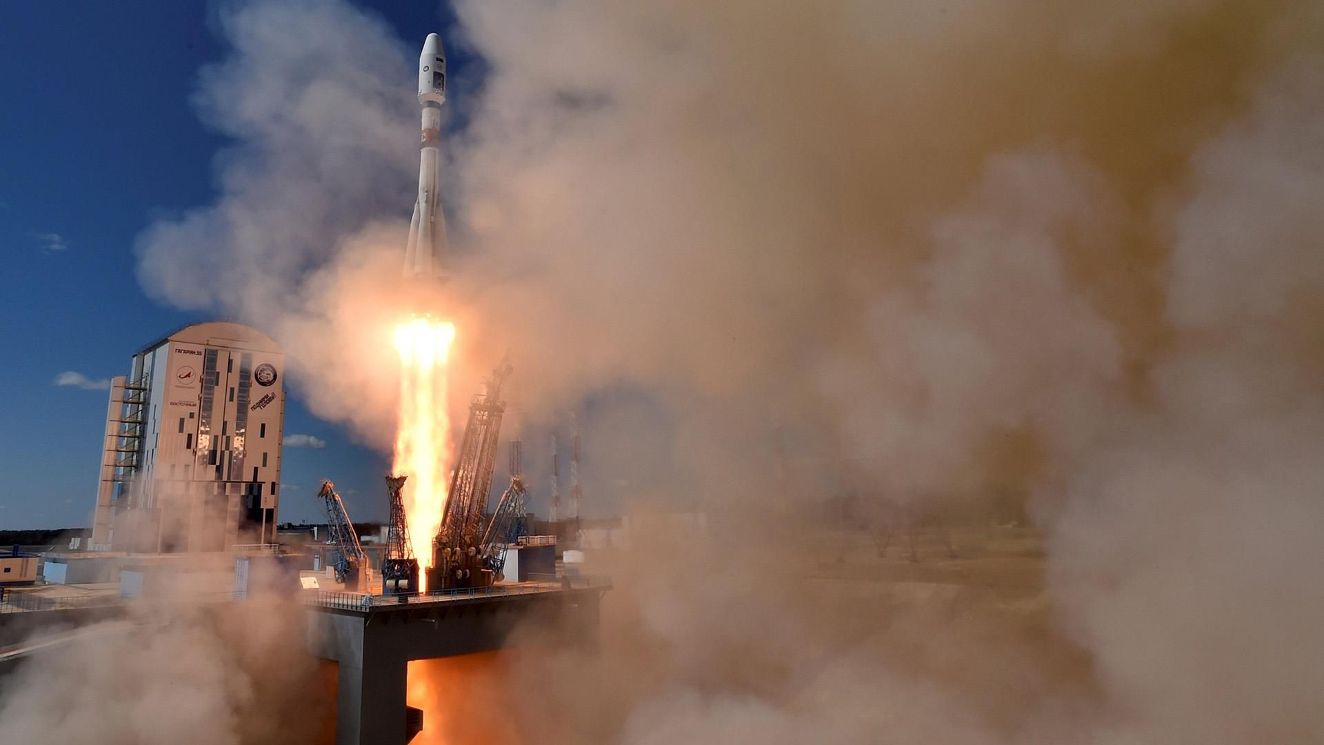 Watch Inaugural Launch From Russia's New Spaceport: President Putin witnessed an unmanned rocket make the first launch from a new cosmodrome near the border with China.