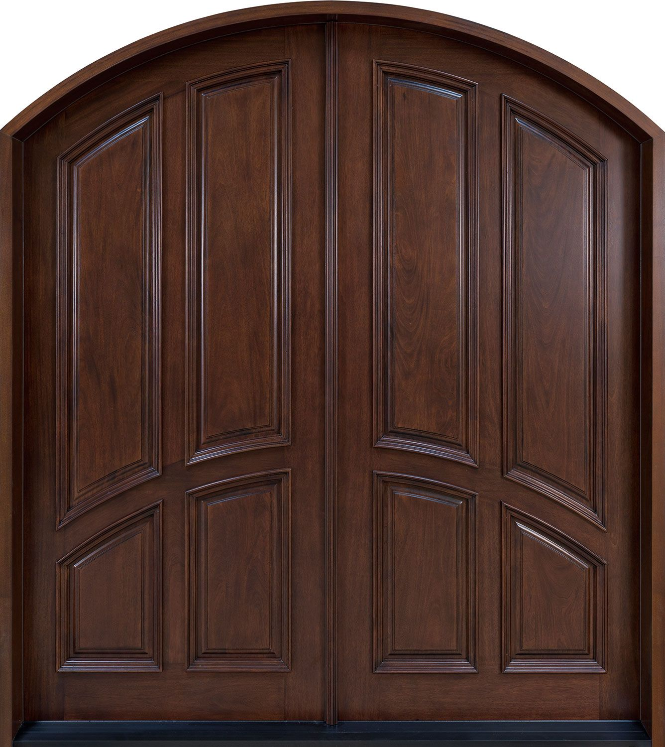 front door custom double solid wood with custom finish classic