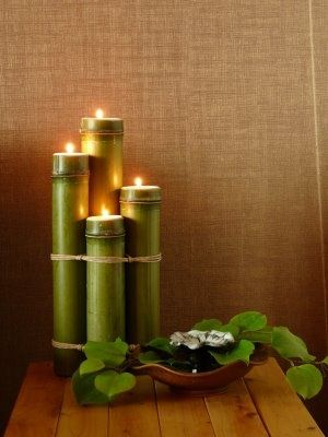 Bamboo Sconce Candle Design Ideas Diy 画像あり 竹飾り 竹風鈴
