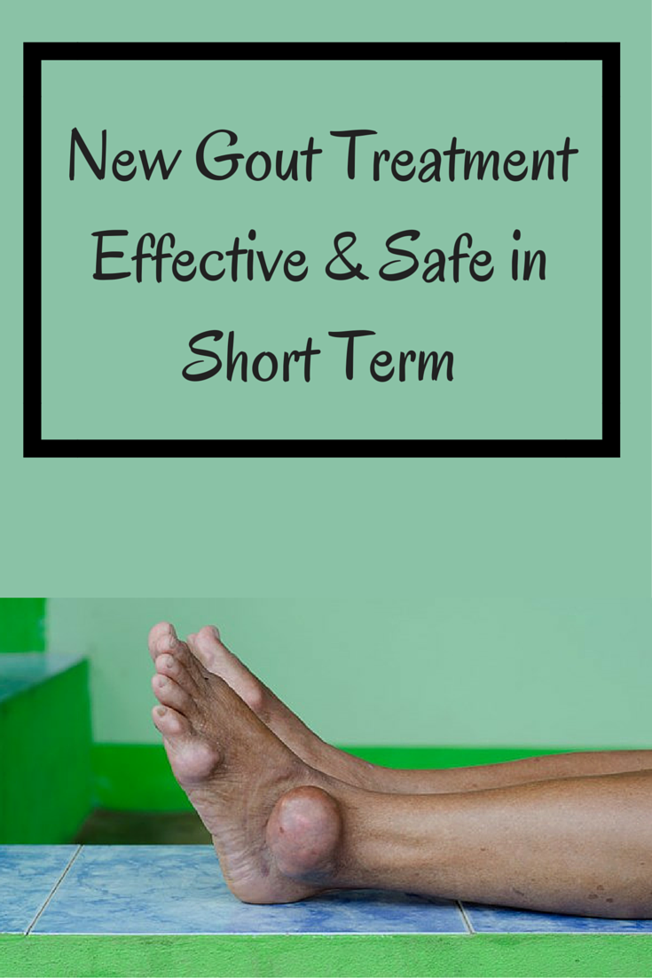 New Gout Treatment Effective, Safe in Short Term