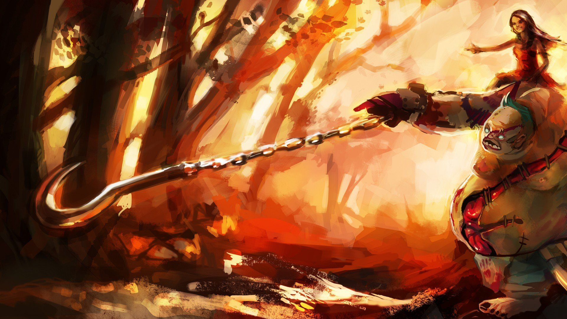 Dota  Pudge Wallpaper P Click Wallpapers Dota  Wallpaper Games Concept