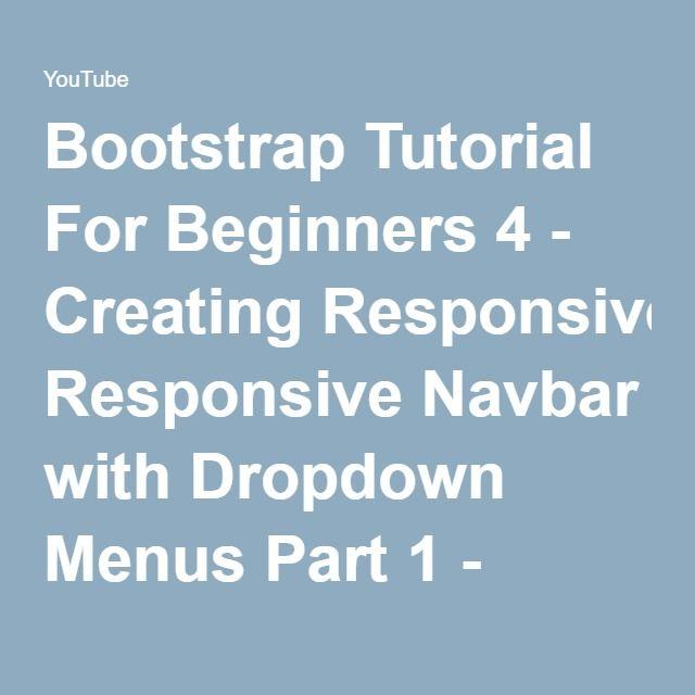 responsive navbar bootstrap 4