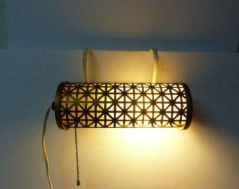 1950 S Headboard Lamp Clamp On Reading Task Light
