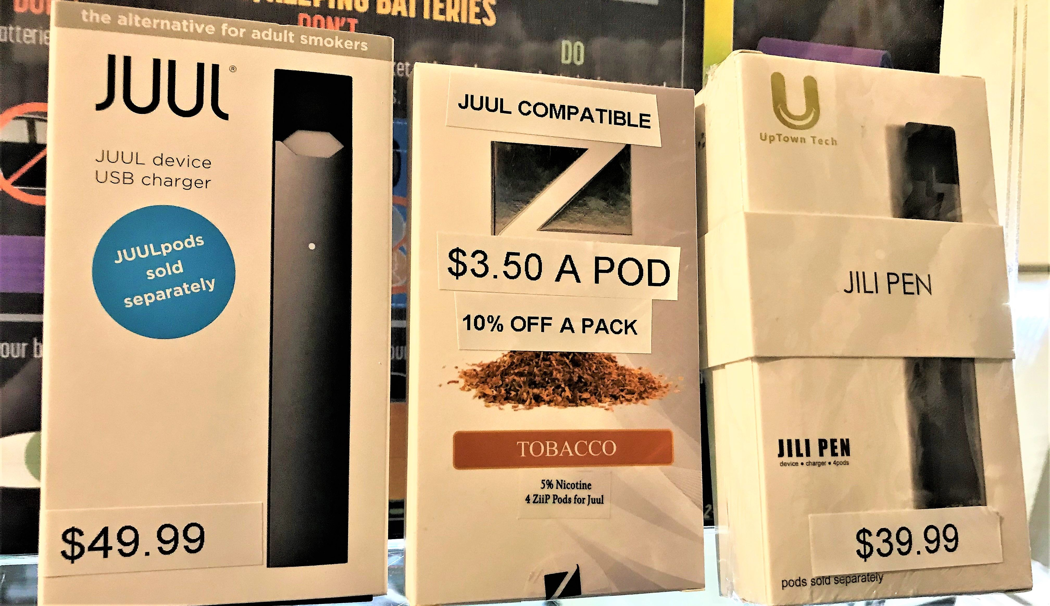 Juul & Jili now in stock! Jili is interchangeable with the