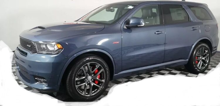 2019 Dodge Durango Srt In New Color Reactor Blue Dodge Durango Dodge Srt