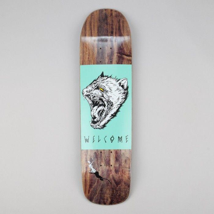 Welcome Tasmanian Angel Eclipse Shape Deck Black 8 25 Skateboard Skateboard Design Skateboard Decks