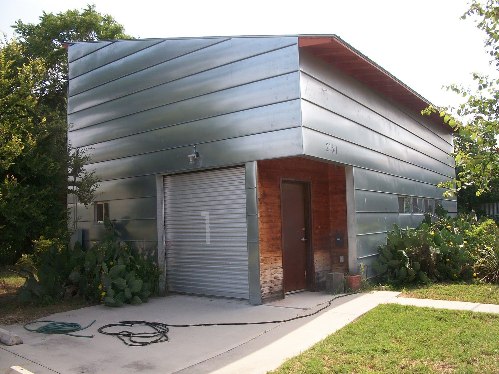 Metal Siding For Exterior Of House This Modern Home With