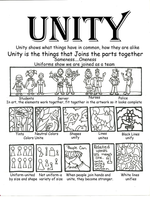Art Unity Poster